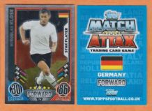 Germany Miroslav Klose Lazio Star Player